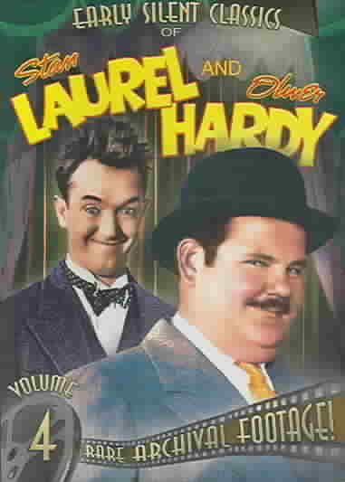STAN LAUREL & OLIVER HARDY VOL 4:SILE BY LAUREL,STAN (DVD)